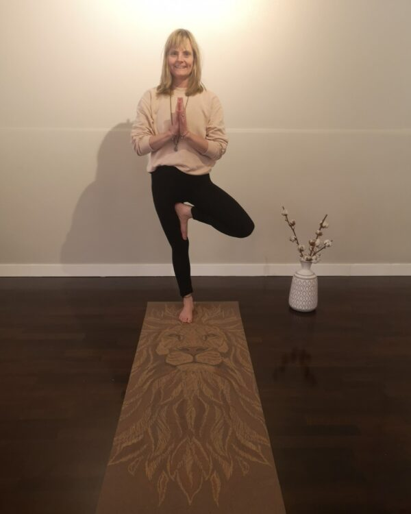 Yogainstruktör Maria Forslund